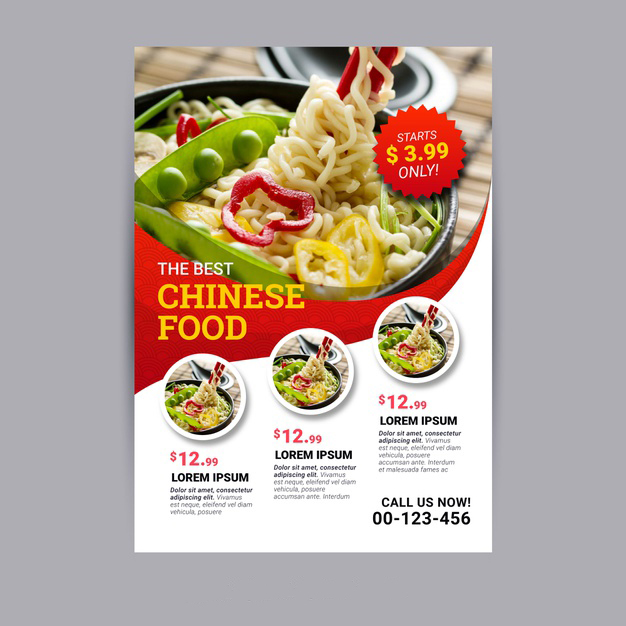 Restaurant Leaflets