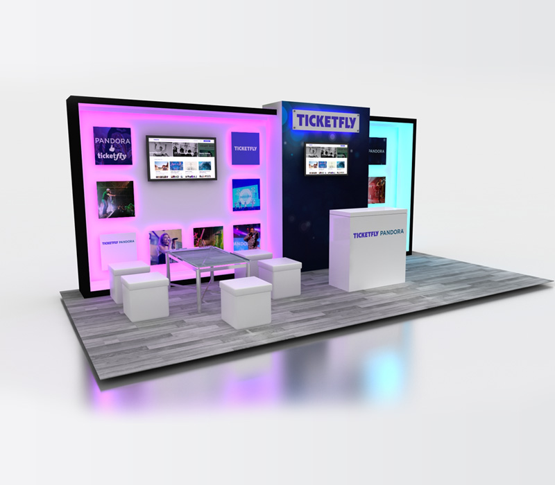 Start-up Booth Design